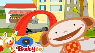 Oliver arabası için doğru tekeri bulmaya çalışıyor - BabyTV Türkçe