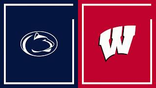 First Half Highlights: Wisconsin at Penn State | Big Ten Football