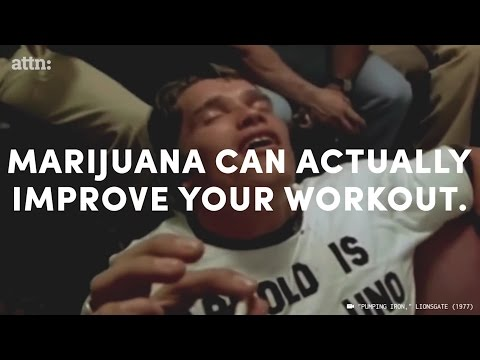 ATTN: Video - Marijuana can literally improve your workout.