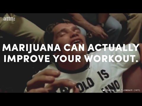 ATTN: Video Marijuana can literally improve your workout.
