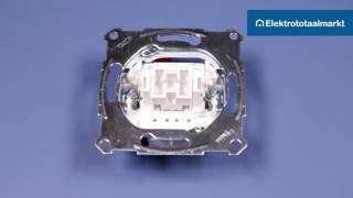Schneider Electric Merten schakelaar 1-polig aansluiten? - Elektrototaalmarkt.nl