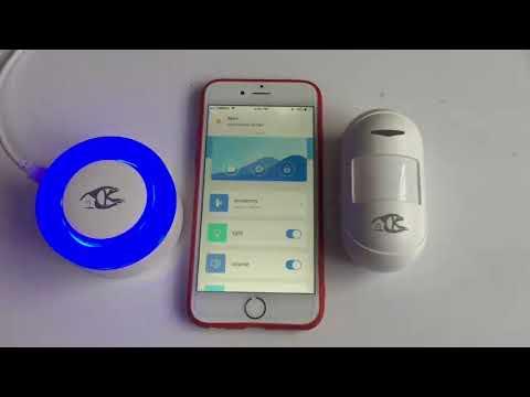 H2 DIY wifi Alarm