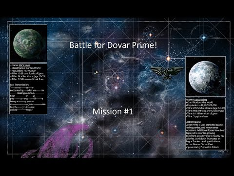 TBMC - Narrative Campaign - Battle for Dovar Prime - Mission #1 - You Voted!
