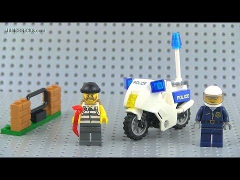 LEGO City 2014 Crook Pursuit set 60041 Review!