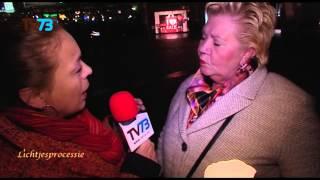 Ina uit Waalwijk loopt elk jaar weer mee  - Bossche Lichtjesprocessie