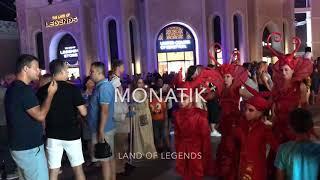 Короткое видео и фото отчёт с концерта 03.08.19 Монатик.   5.08.19 посетим концерт