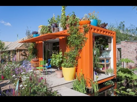 Shipping container homes better homes and gardens youtube - Better homes and gardens storage containers ...