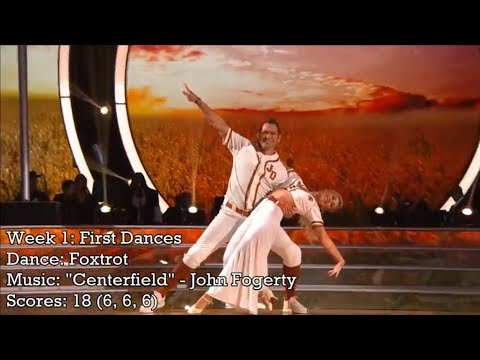 Johnny Damon - Dancing With The Stars Performance