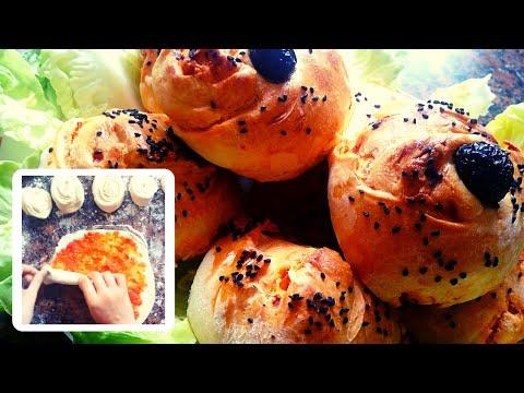 sandwich-avec-une-pâte-levée-feuilletée-سندويتش-بعجينة-مورقة-خفيفة
