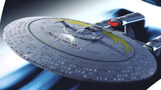 Star Trek Starships Collection ISS Enterprise D Galaxy X Special Issue Review