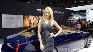 SEXIEST, HOTTEST & CUTTEST GIRLS at New York Auto Show!