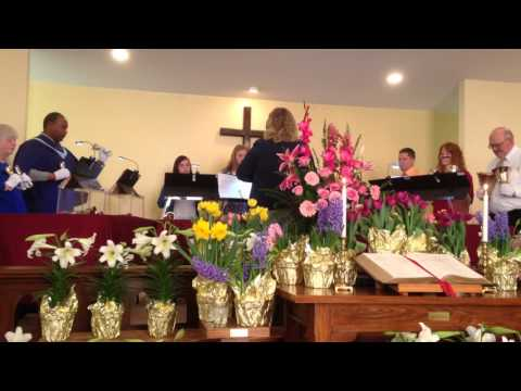 Reservoir United Methodist Church Bell Choir - El Shaddai - Easter March 27, 2016
