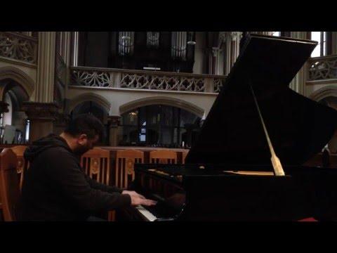 Bach: Prelude in E-flat minor/John Kameel Farah, piano + electronics