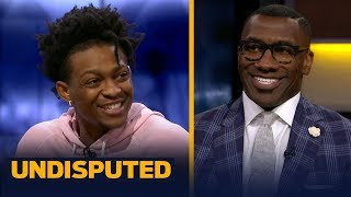 De'Aaron Fox talks Steph Curry's greatness, Luke Walton as Kings HC & NBA Finals pick | UNDISPUTED