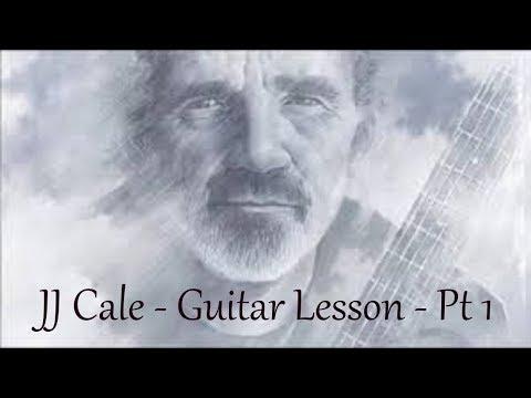 JJ Cale - Part 1 - Guitar tutorial - by Joe Murphy