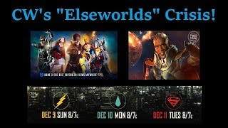 CW'S Elseworlds Crisis Starts Tonight! Plus Aquaman and Gotham News!