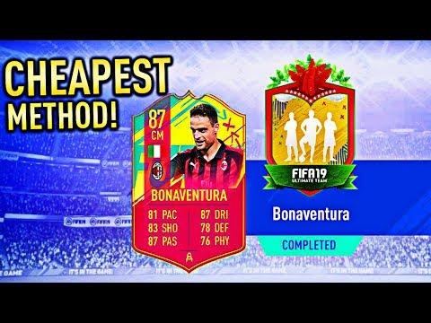 CARNIBALL BONAVENTURA SBC – CHEAPEST METHOD!!! (FIFA 19)