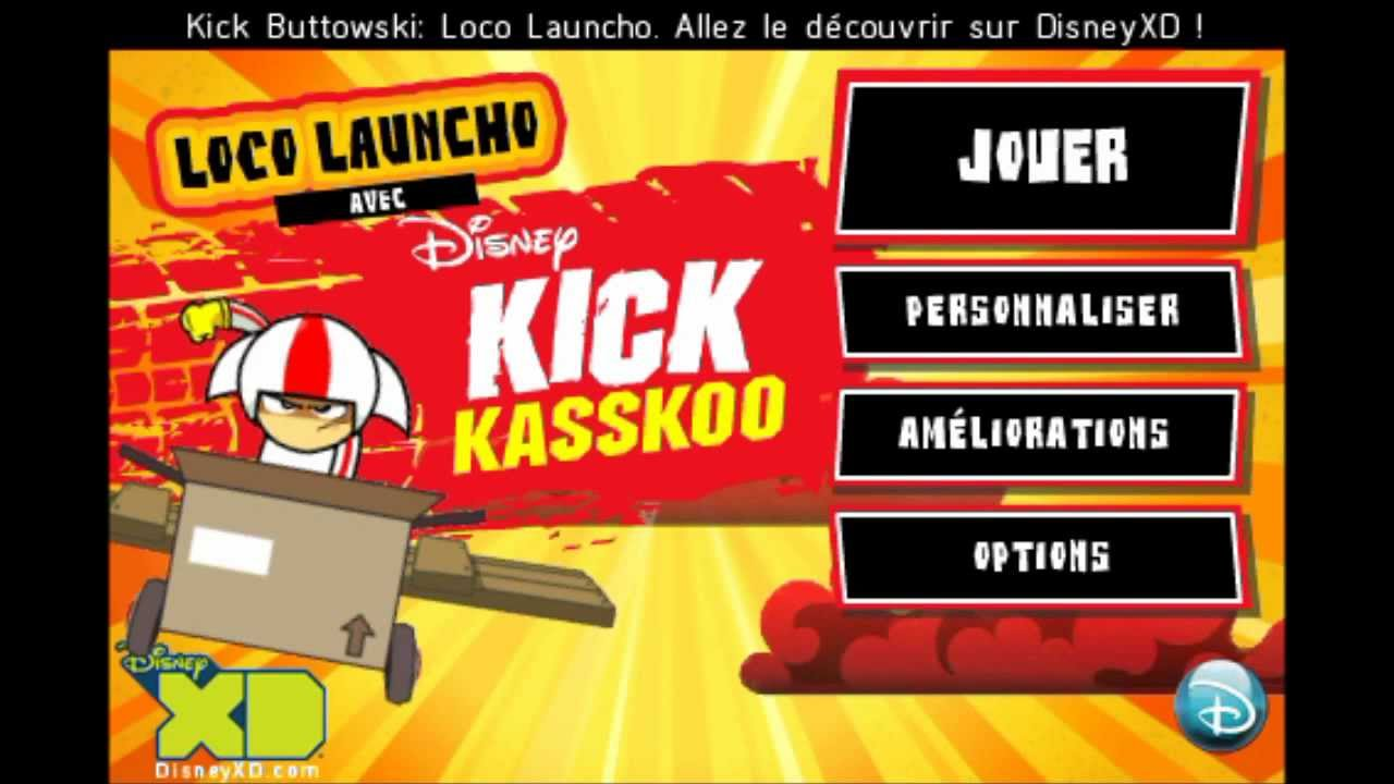 kick buttowski loco launcho android