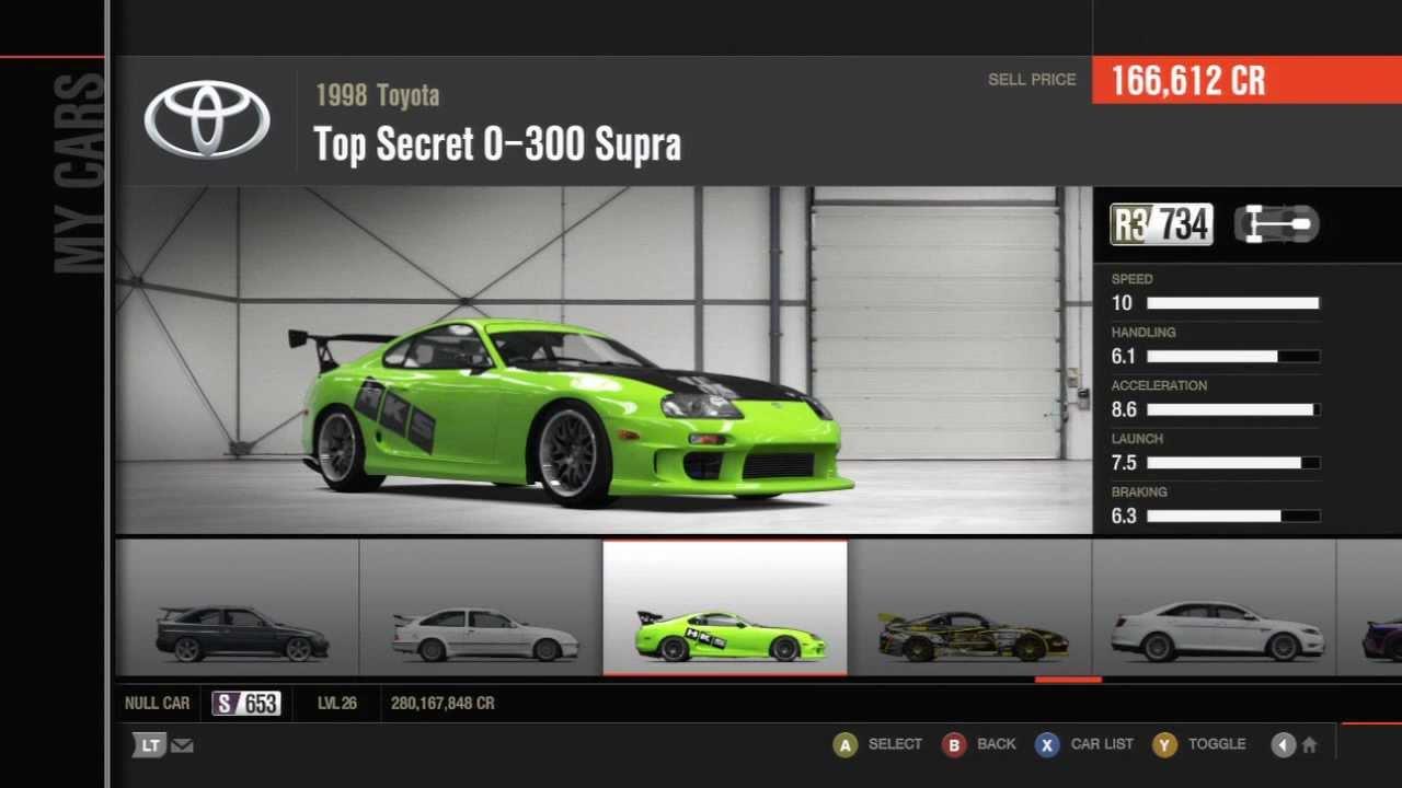 Share Garage Cars Forza Horizon