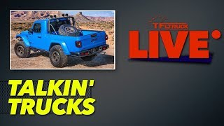 Jeep Teased a 2-Door and a Hellcat Powered Gladiator: Will They Build Them?   Talkin' Trucks Ep. 42