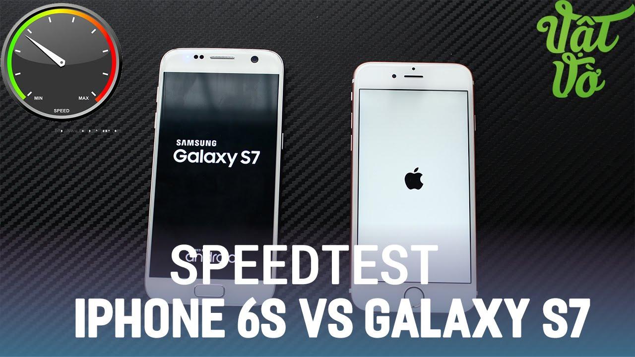Vật Vờ  So sánh iPhone 6s và Samsung Galaxy S7(Exynos 8890) : hiệu năng, đa nhiệm