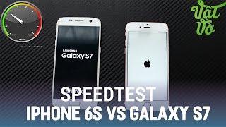 Vật Vờ| So sánh iPhone 6s và Samsung Galaxy S7(Exynos 8890) : hiệu năng, đa nhiệm