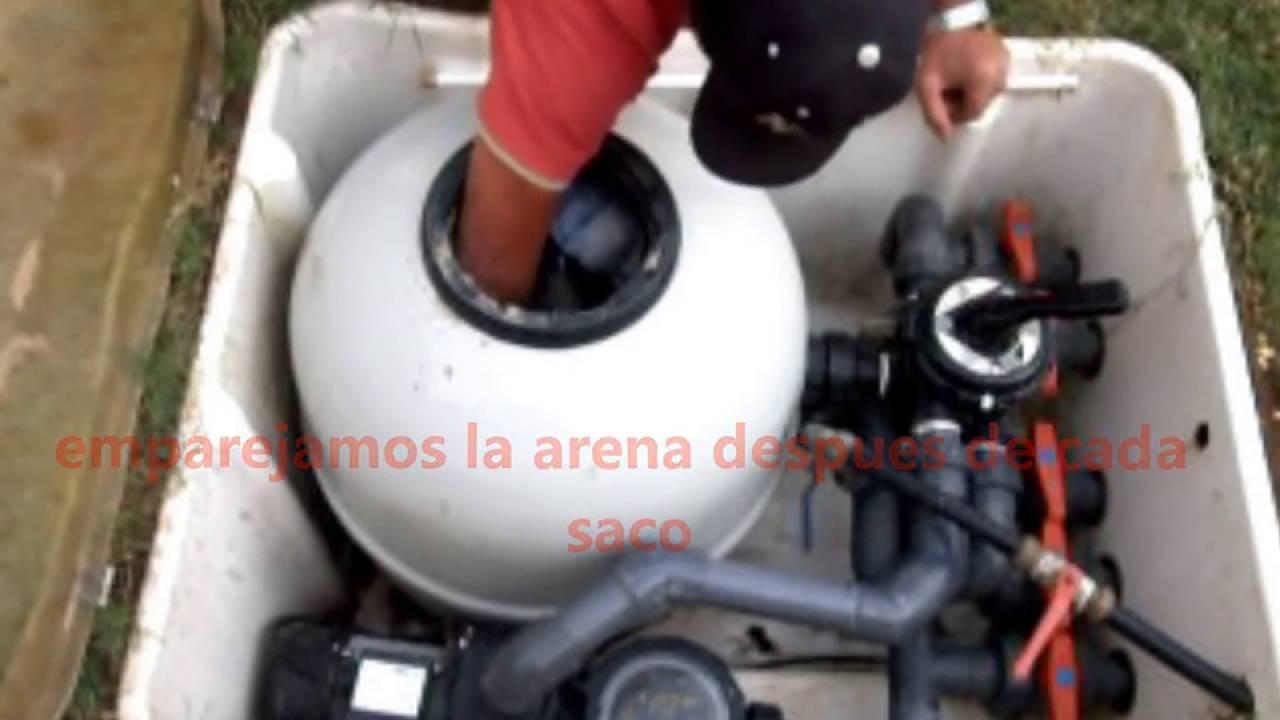 Como cambiar la arena de una depuradora de piscina comun for Piscinas desmontables pequenas con depuradora