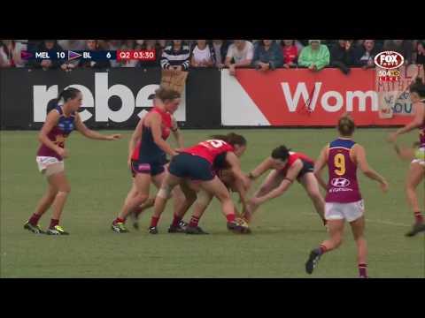 AFLW Highlights - Melbourne v Brisbane Lions