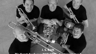J. S. Bach - Contrapunctus 7 per Augment. et Dimin. - Die Kunst der Fugue BWV1080 - Canadian Brass
