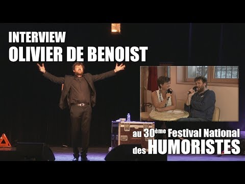 Les RDV Cultur'L avec Olivier DE BENOIST   Festival des Humoristes 2018