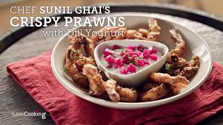 Indian Cooking At Home: Sunil Ghai's Kurkura Jhinga (Crispy Prawns)