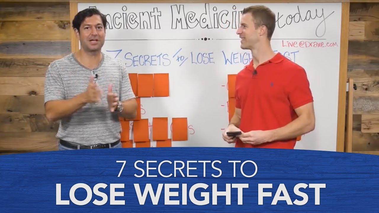 7 Secrets To Lose Weight Fast Youtube