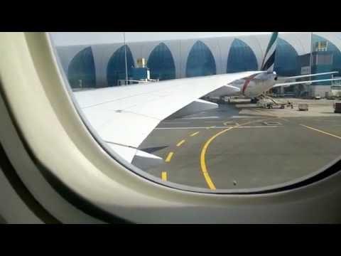 Перелет Дубаи - Санкт-Петербург Emirates BRAND NEW Boeing 777-300ER A6-EPB Full Flight DXB-SPb