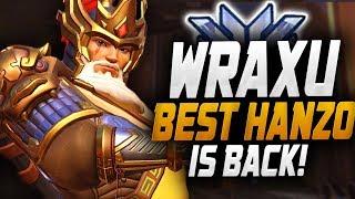 WRAXU BEST HANZO IN THE WORLD IS BACK?! [ OVERWATCH SEASON 19 TOP 500 ]