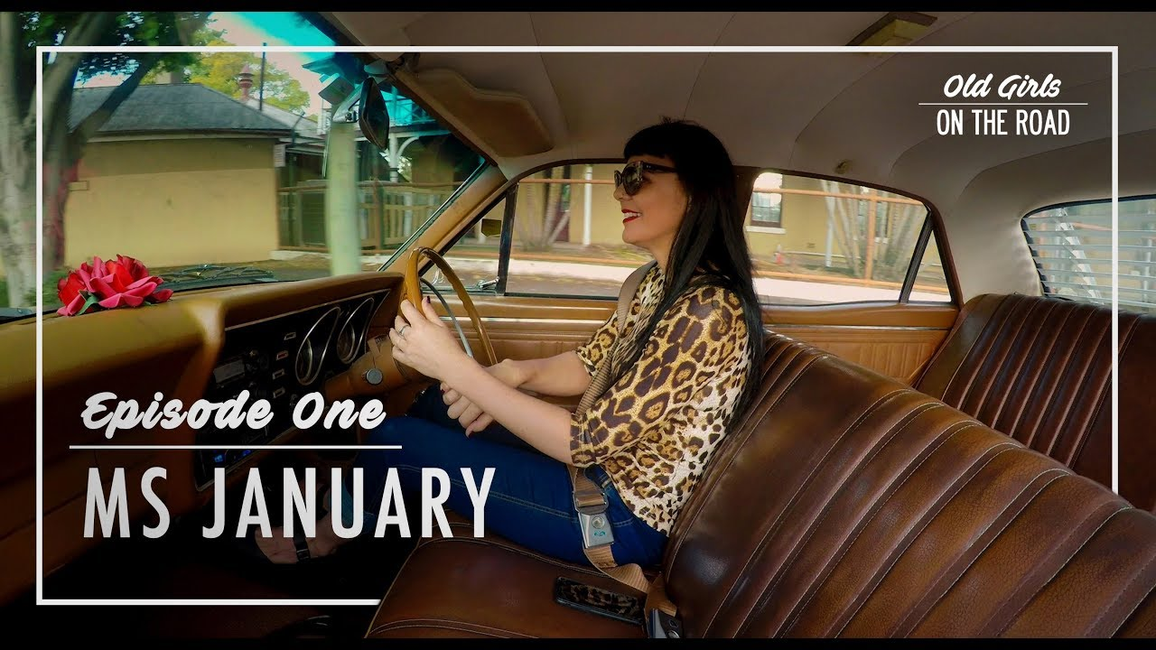 Old Girls on The Road Episode 1. Ms January