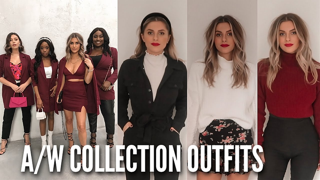 [VIDEO] - NEW AUTUMN / WINTER OUTFITS - In the Style Collection & Shoot | Fashion Influx 5