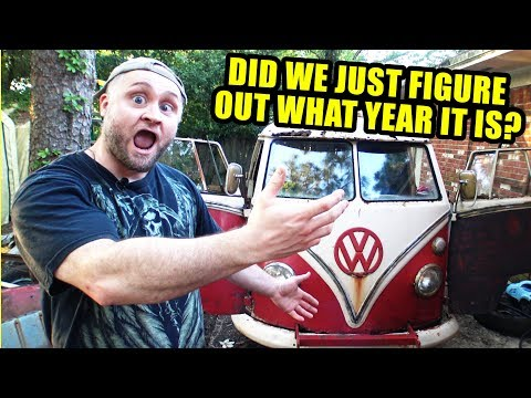 1967 VW Bus or 1966? - Letters on Floor - Mid Day Q&A - 64