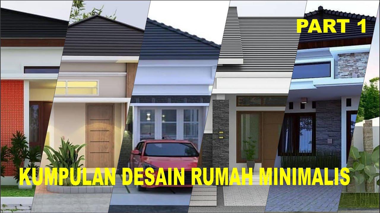 25 KUMPULAN DESAIN RUMAH MODERN MINIMALIS 1 LANTAI 2020 #1 ...