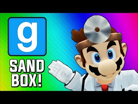 Thumbnail: Gmod Sandbox Funny Moments - Dr. Mario, Physical, Worst Hospital (Garry's Mod Skits)