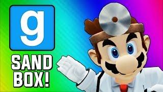 Gmod Sandbox Funny Moments - Dr. Mario, Physical, Worst Hospital (Garry s Mod Skits)