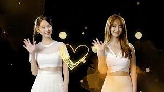 SNSD Seohyun & Yuri - PANTENE x 少女時代