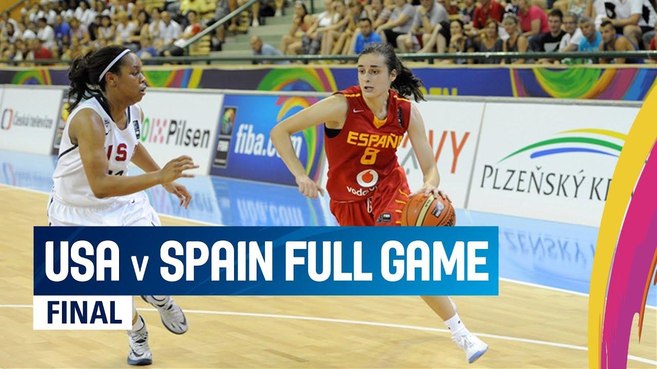 USA v Spain - Final - Full Game
