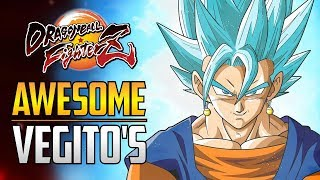 DBFZ ▰ More Impressive Vegito Players 【Dragon Ball FighterZ】