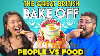 We Re-Created The Great British Bake Off Foods | People Vs. Food
