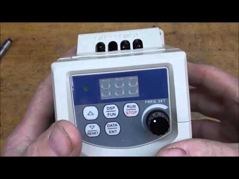 MACHINE SHOP TIPS #138 Part 1 of 2  Installing a VFD on a Dr
