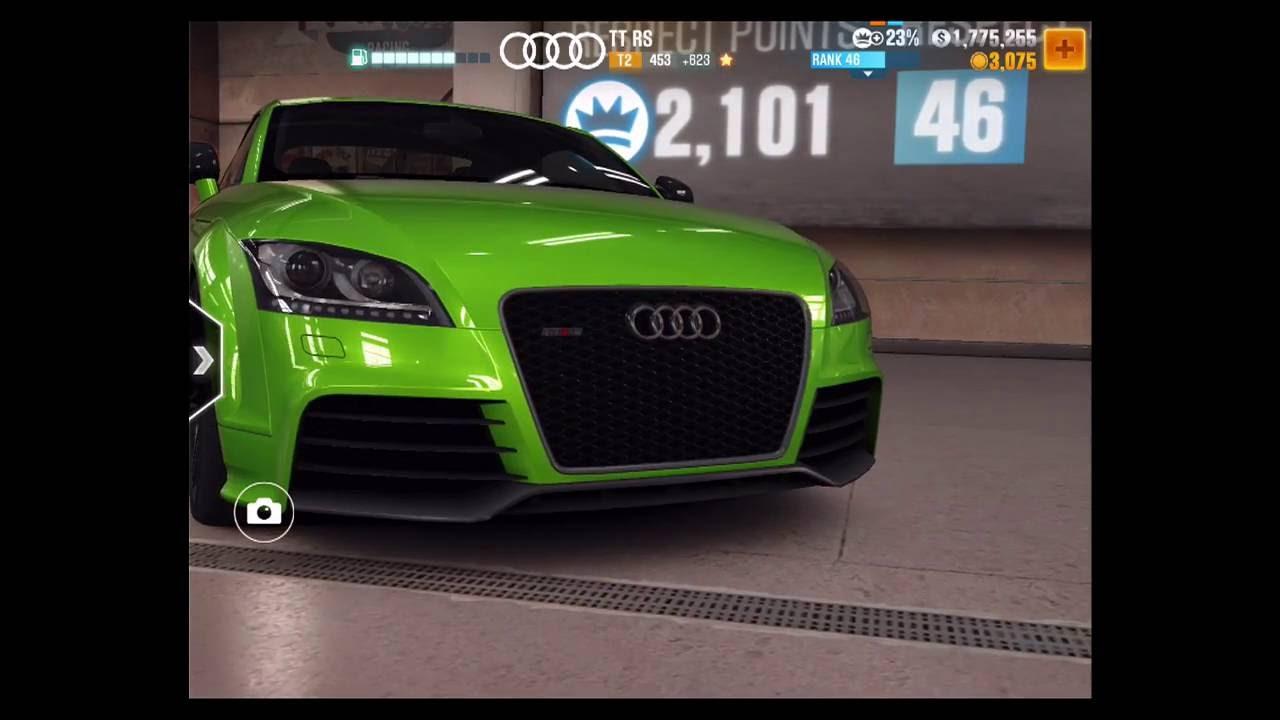 CSR 2: AUDI TT RS 11.3XX (BEST TUNE) - YouTube