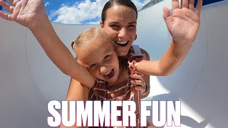 ICE CREAM, COTTON CANDY, WATER SLIDES, AND SWIMMING POOLS | THIS IS SUMMER