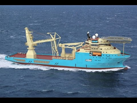 Maersk Supply Service - 4 new highly flexible Subsea Support Vessels