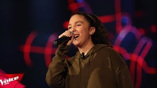 Martina  Side to side  Audicionet e Fshehura  The Voice Kids Albania 2018