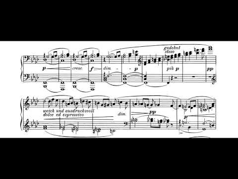 Wagner - Tristan und Isolde, Prelude to Act 3 (piano score)